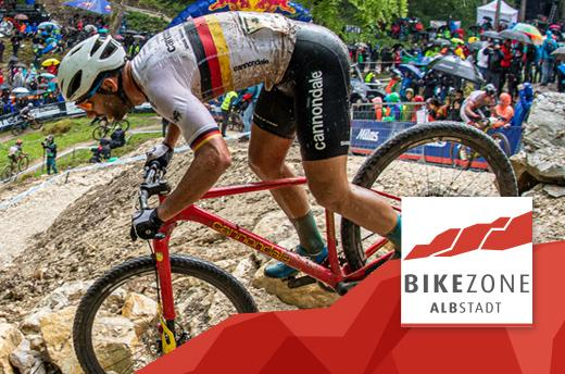 2021 Mercedes-Benz UCI Mountain Bike World Cup in der Bikezone Albstadt
