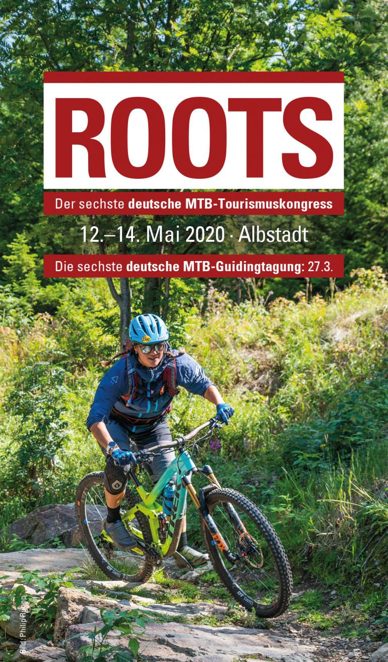 MTB Tourismus Kongress Roots Flyer
